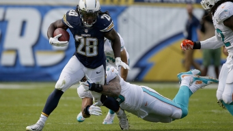 Chargers' Gordon Out for Rest of Year