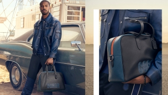 Michael B. Jordan Makes Debut as New Face of Coach
