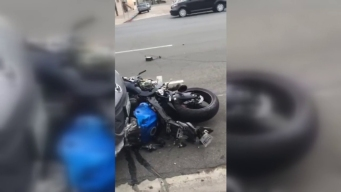 WATCH: Witness Video of Motorcycle Crash in Hillcrest