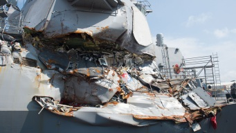 Navy to Drop Charges Against Former USS Fitzgerald Officers