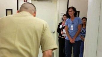 Paralyzed Naval Officer Surprises ICU Nurse