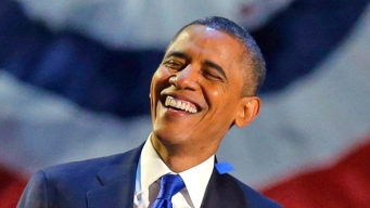 Watch: Full Obama Victory Speech