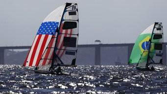 Coronado Sailor Wins Race for US Sailing in Rio Olympics