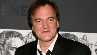 "Quentin Tarantino Gets Choked Up for ""Django Unchained"""