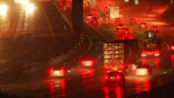 Monday Night Rainfall Causes Crashes on San Diego Freeways