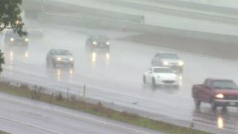 Tuesday Sees Scattered Rain, Slick Roads
