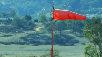 Red Flag Warning Issued for Region's Foothills and Valleys