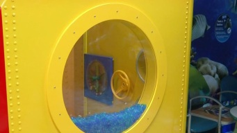 Children's Hospital Lego Waiting Room is Under the Sea