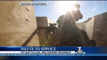 Salute to Service: 1st Battalion, 3rd Marine Regiment