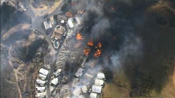 Woman Dies in Calimesa Fire Caused by Truck's Fiery Load