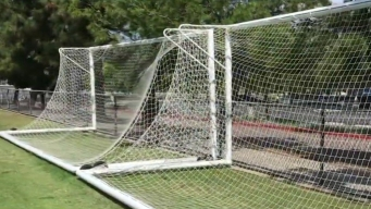 Goal Post Safety Investigated at Local Soccer Clubs