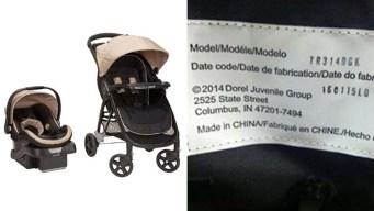Dorel Strollers Recalled Due to Falling Hazard