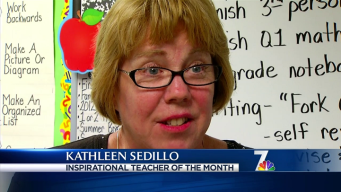 Inspirational Teacher October 2012 Kathleen Sedillo