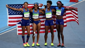 Team USA Shined on the Track in Rio
