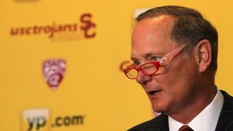 USC's Pat Haden Has Medical Episode on Campus
