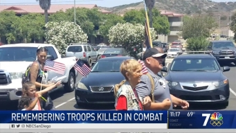 2 Marine Vets Walk Hundreds of Miles to Honor Fallen Troops