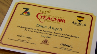 Inspirational Teacher: Dana Angell