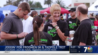 Joggin' for Frogmen 5K and Tadpole Trot