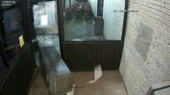 Wild ATM Theft Caught On Camera