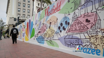 Young Artists Create Mural at Horton Plaza