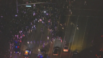 20 Arrested Amid Anti-Trump Protests in California
