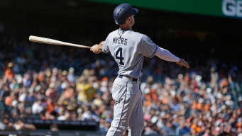 Padres Myers Finishes Hot Month