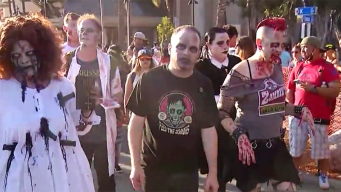 Comic-Con's Zombie Walk Returns