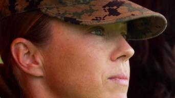 1st Woman Takes Command of Marine Ground Combat Arms Unit