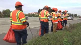 Caltrans Asks for Help to Remove Freeway Litter