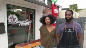 Community Rallies Around Barbershop After Hate Message Found
