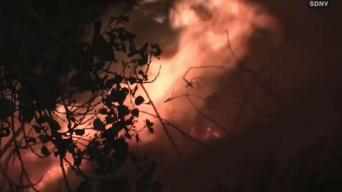 Crews Quickly Put Out Brush Fire Near SR-94