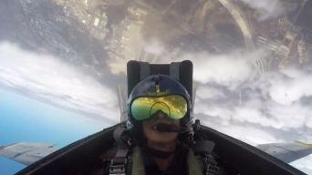 Dagmar Takes Flight With the Blue Angels