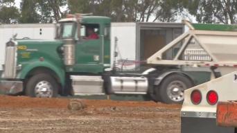 Dump Truck Parade Begins Chula Vista Hotel Bayfront Hotel Construction