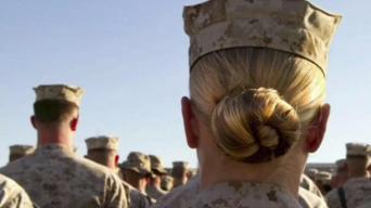Female Veterans Take Part in #MeToo Movement
