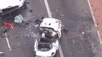 Good Samaritans Flip Car, Help Save Victims of Crash in Santa Ana