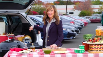 Tailgate Recipe: Meaty Meatless Kebabs