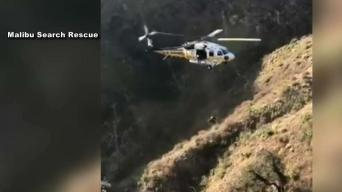 Motorcyclist Plunges Over Malibu Cliff