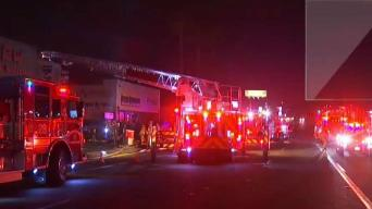 SDFD Puts Out Fire at Off Road Warehouse
