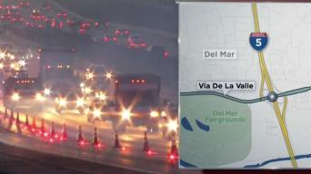 Slow Commute in Del Mar Following Fatal Crash