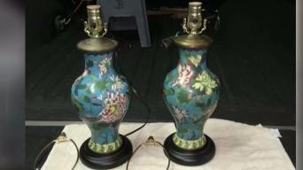 Rare Family Heirloom Lamps Stolen From Garage