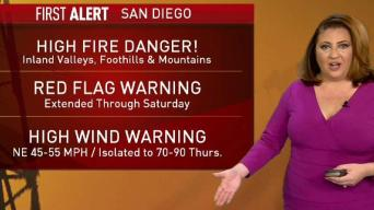 Warnings Extended Through Saturday