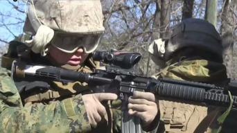 Women Joining Men in Marine Combat Training at Camp Pendleton