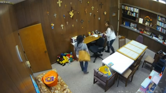 Caught on Camera: Thieves Strike During Church Service