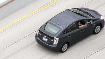 Prius Passenger Opens Fire on Cops in High-Speed LA Chase