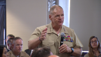"""Marine Commandant in SD: """"Every War Has to End"""""""