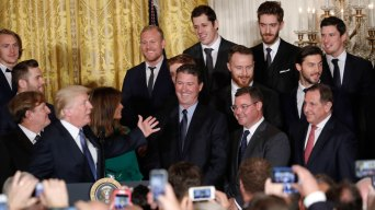 Stanley Cup Champion Penguins Visit Trump at White House