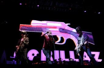 Gorillaz Schedule San Diego Tour Stop