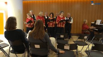 'Singin' Grandpas' Spread Joy at Local Hospital