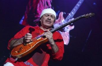 Carlos Santana Announces San Diego Show