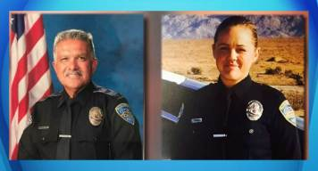 Thousands Honor Palm Springs Officers at Memorial Service